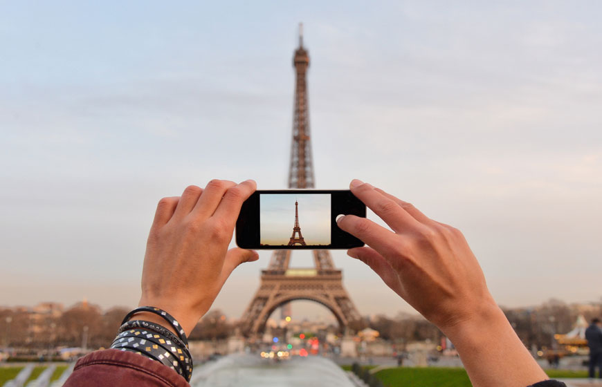 Paris with travel insurance