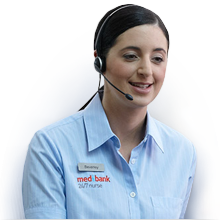 Speak to a Medibank Nurse 24/7
